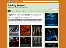 Epicecigreviews.com thumbnail