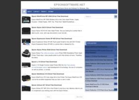 Epsonsoftware.net thumbnail