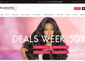 Equeenahairstore.com thumbnail