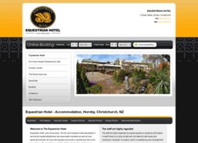 Equestrianhotel.co.nz thumbnail