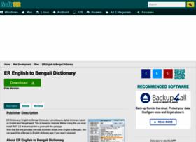 Er-english-to-bengali-dictionary.soft112.com thumbnail