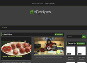 Erecipes.info thumbnail