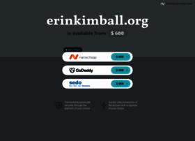 Erinkimball.org thumbnail