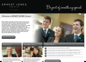Ernestjonescareers.co.uk thumbnail