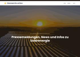 Erneuerbare-energie-solarenergie.de thumbnail