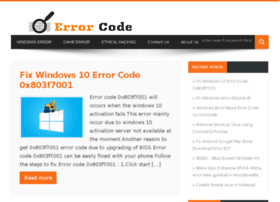 Errorcode.in thumbnail