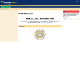 Ersa.ochsner.org thumbnail