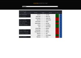 Es.scorepredictor.net thumbnail