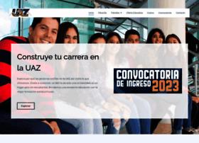 Escolar.uaz.edu.mx thumbnail