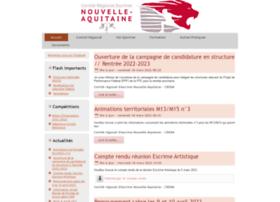 Escrime-nouvelle-aquitaine.fr thumbnail