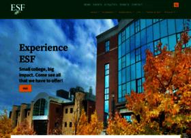 Esf.edu thumbnail