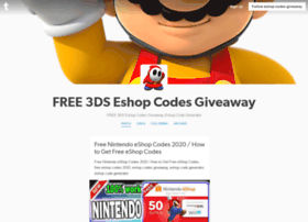 Eshop-codes-giveaway.tumblr.com thumbnail
