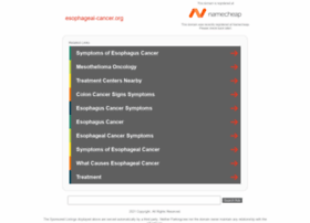Esophageal-cancer.org thumbnail