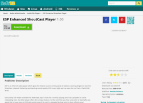 Esp-enhanced-shoutcast-player.soft112.com thumbnail