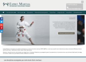 Espritmartial.fr thumbnail
