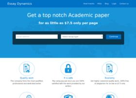 Essaydynamics.com thumbnail