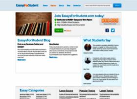 Essaysforstudent.com thumbnail
