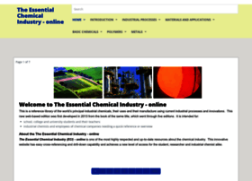Essentialchemicalindustry.org thumbnail
