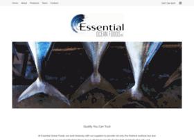 Essentialoceanfoods.net thumbnail