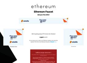 Ethereumfaucet.info thumbnail
