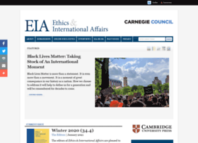 Ethicsandinternationalaffairs.org thumbnail