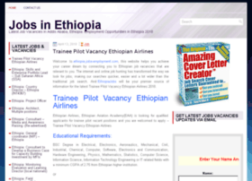 Ethiopia.jobs-employment.com thumbnail