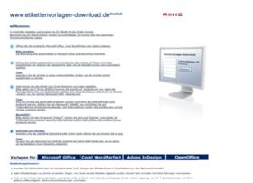 Etikettenvorlagen-download.de thumbnail