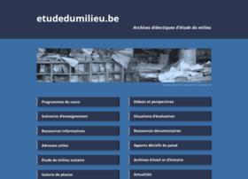 Etudedumilieu.be thumbnail