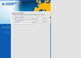 Eubusinessregister.org thumbnail