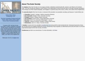 Eulersociety.org thumbnail