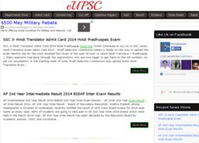 Eupsc.in thumbnail