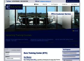 Euro-training.net thumbnail