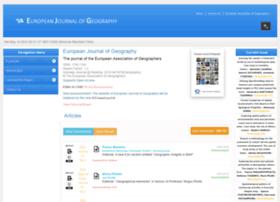 Eurogeographyjournal.eu thumbnail