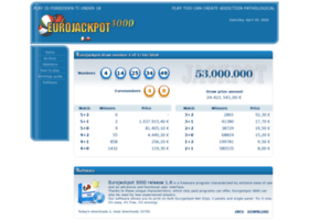 Eurojackpot3000.it thumbnail