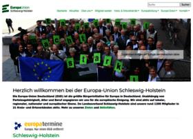 Europa-union-sh.de thumbnail
