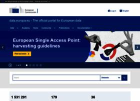 Europeandataportal.eu thumbnail