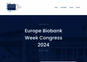 Europebiobankweek.eu thumbnail