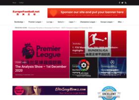 Europefootball.net thumbnail