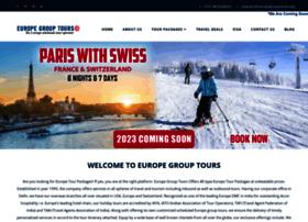 Europegrouptours.in thumbnail