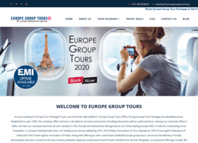 Europegrouptours.org thumbnail