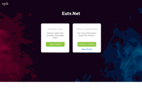 Eutv.net thumbnail