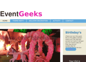 Eventgeeks.in thumbnail