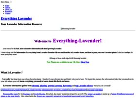 Everything-lavender.com thumbnail