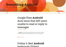 Everythingandroid.com thumbnail