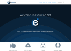 evolutionnet info at WI  Evolution Net |