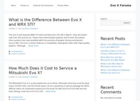 Evoxforums.net thumbnail
