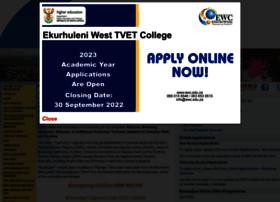 Ewc.edu.za thumbnail