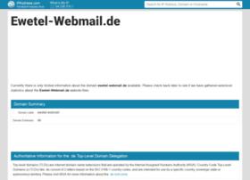Ewetel-webmail.de.ipaddress.com thumbnail