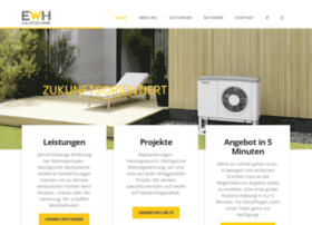 Ewh-haustechnik.at thumbnail