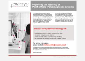 Exacsys.co.uk thumbnail